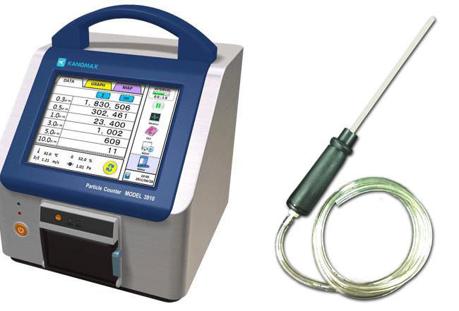 Portable Particle Counter Models 3905 & 3910